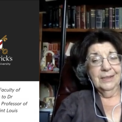 Dr Eleonore Stump in conversation with Dr Gaven Kerr